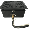 Korean BBQ Table Grill Outdoor patio dining table grill. Controls also work with the fire pit insert. KBBQ, Fondue, Raclette, Hibachi, Patio Dinning Set